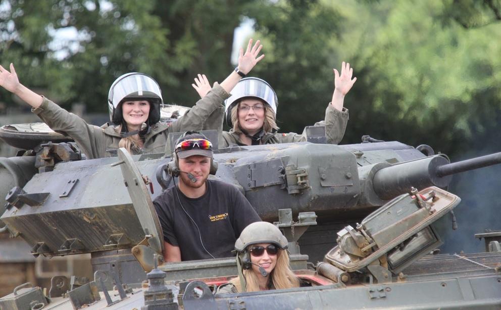 Tank driving in Birmingham