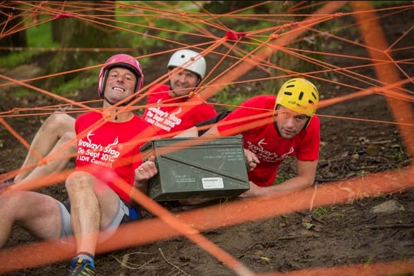 assault course in Cardiff