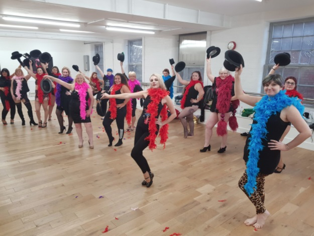 hen dance class in Nottingham