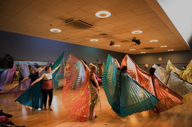 Hen dance party in Nottingham