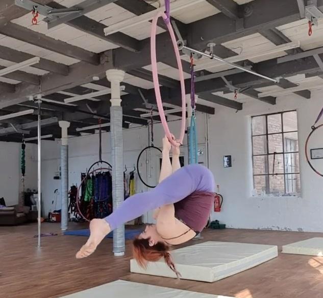 aerial hoop in Nottingham