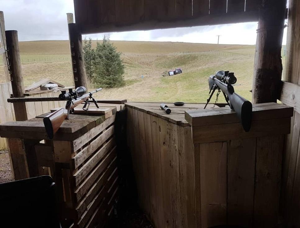 rifle shooting in Edinburgh
