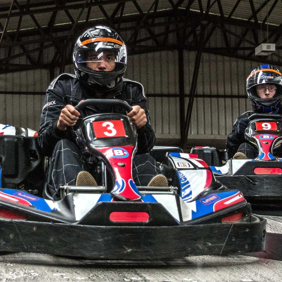 Indoor go karting in Birmingham