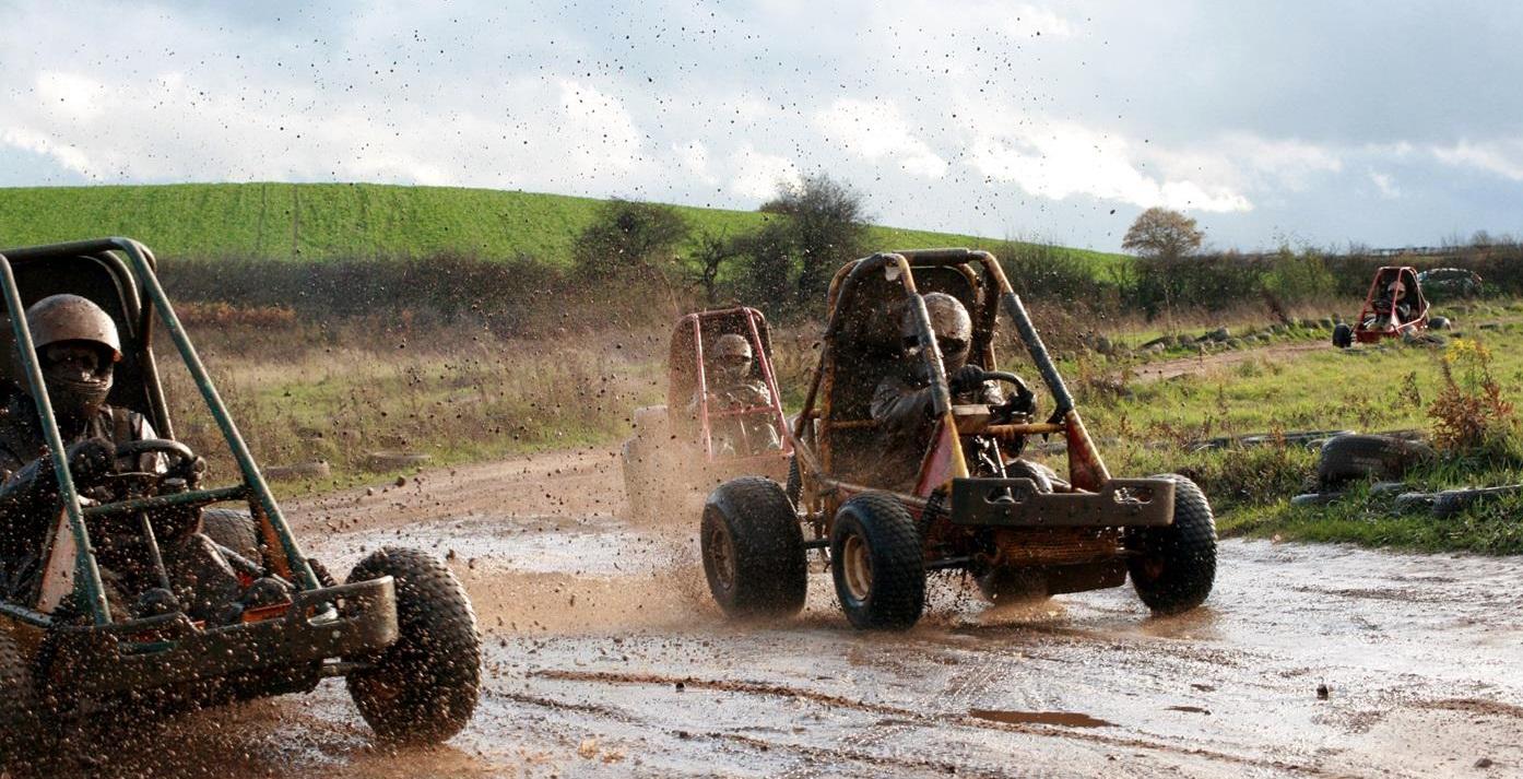 mud buggy driving in Nottingham