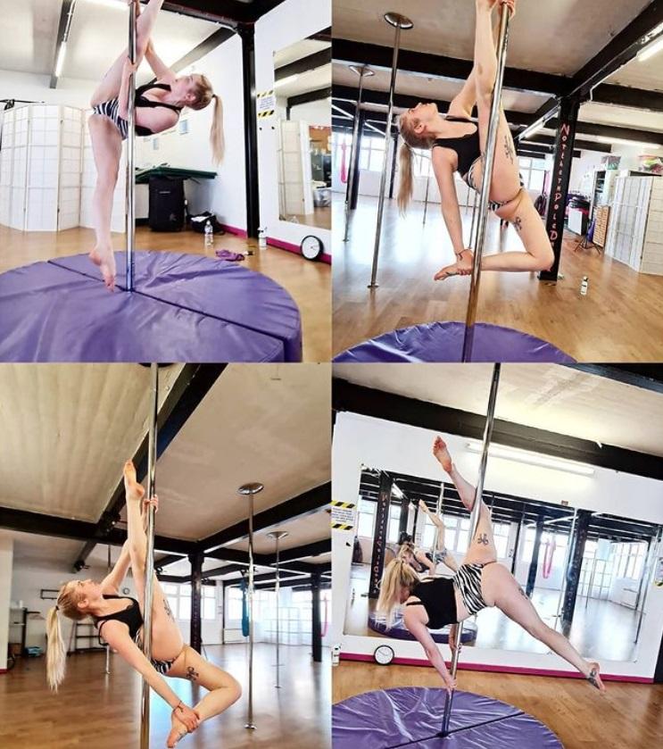 pole dancing in Newcastle