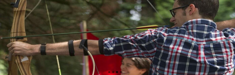Archery activity in Edinburgh