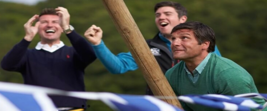 mini highland games in Edinburgh