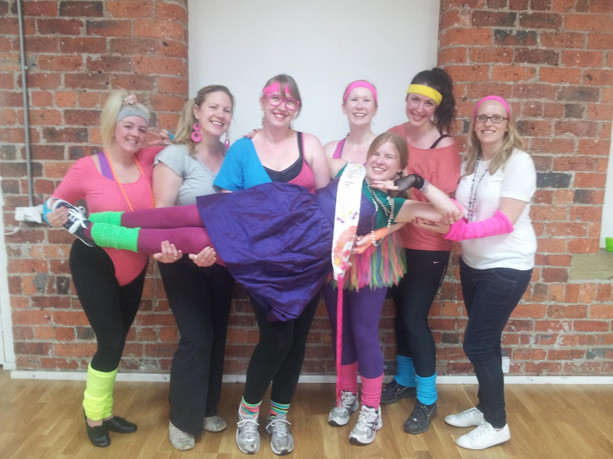 Hen Dance class in Leeds