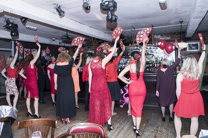 burlesque dance class in london