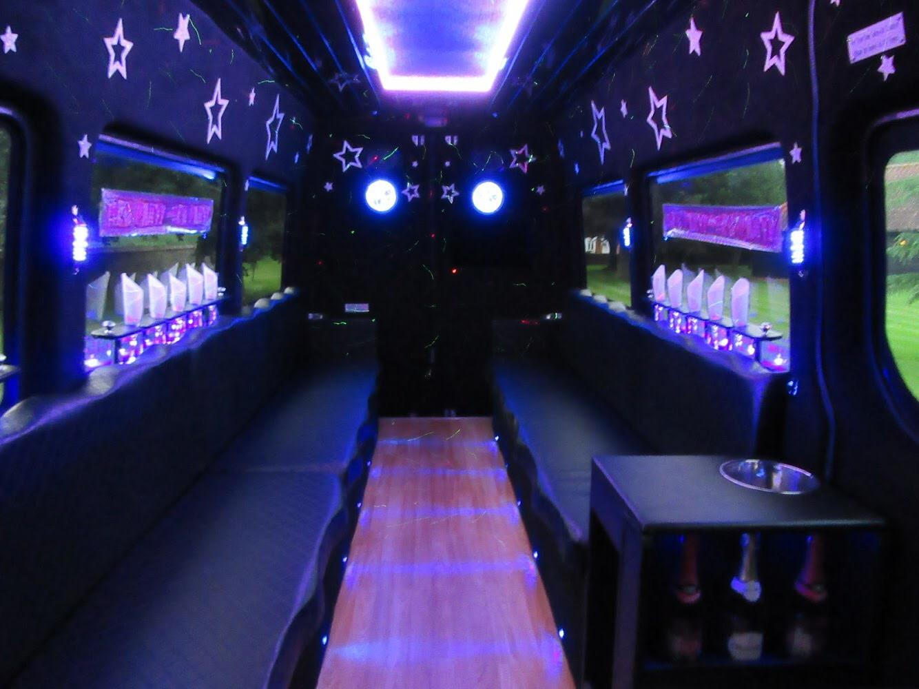 Cambridge party bus